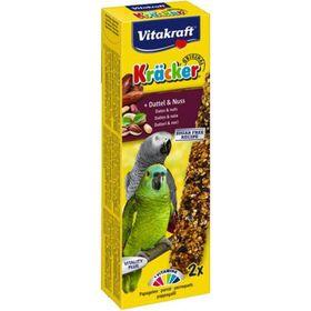 Крекеры VITAKRAFT для африканских попугаев, фрукты/орехи, 2шт/упаковка