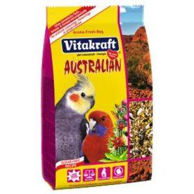 Корм VITAKRAFT AUSTRALIAN для средних попугаев, 750 г.