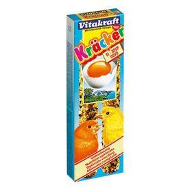 Крекеры VITAKRAFT для канареек, яичные, 2 шт/упаковка