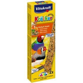 Крекеры VITAKRAFT для экзотических птиц медовые, 2шт/упаковка