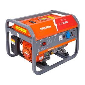 """Генератор бензиновый """"Кратон"""" GG-2200, 2/2.2 кВт, 220 В, 15 л, ручной старт"""