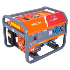 """Генератор """"Кратон"""" GG-2800, бензиновый, 2.5/2.8 кВт, 220 В, 15 л, ручной старт"""