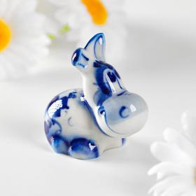 "Сувенир керамика ""Ослик маленький"" 4х2,5 см"
