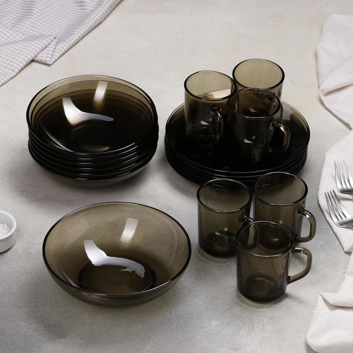 Сервиз столовый Basilico. Ca del vetro, 19 предметов