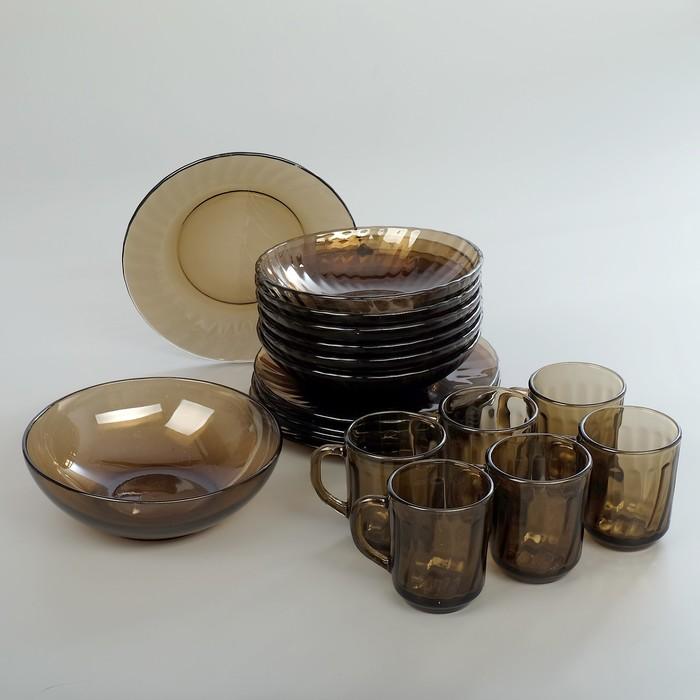 Сервиз столовый Elica. Ca del vetro, 19 предметов