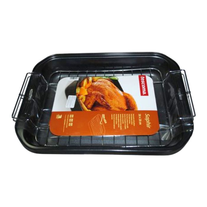 Форма Tescoma SAPHIR для выпечки с решёткой, глубокая, размер 34x26 см