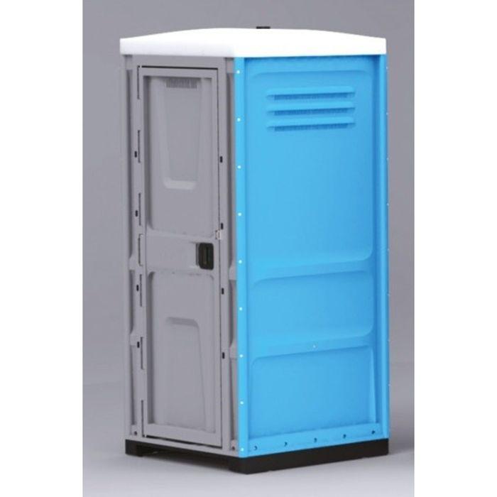 Туалетная кабина, жидкостная, разборная, 225 х 100 х 100 см, 250 л, синяя