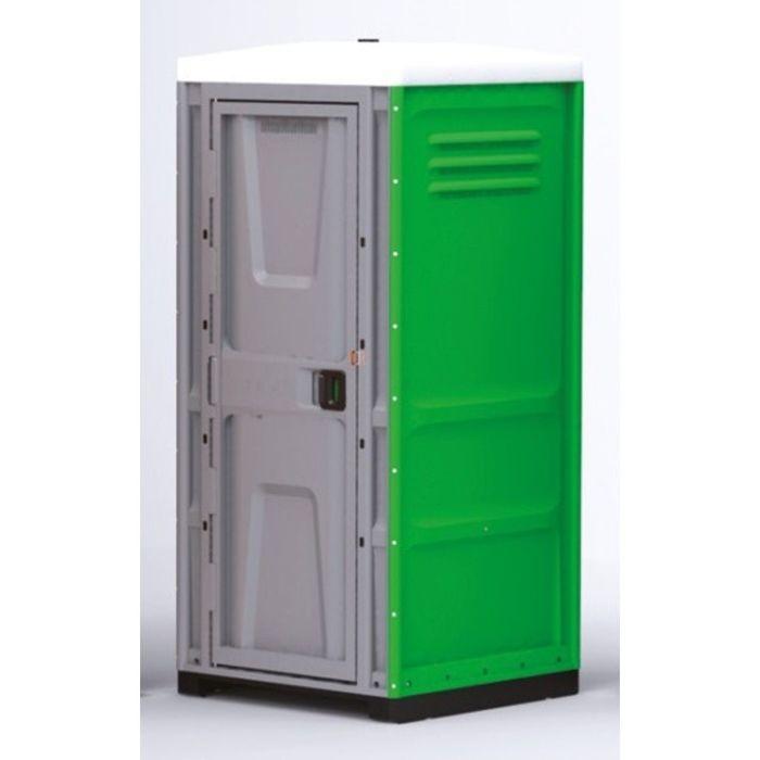 Туалетная кабина, жидкостная, разборная, 225 х 100 х 100 см, 250 л, зелёная
