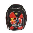 Рюкзак школьный эргономичная спинка для мальчика Mag Taller Cosmo llI 36*29*18 Motocross 20412-12