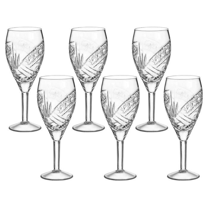 Набор фужеров для вина 240 мл, 6 шт