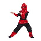 """Детский карнавальный костюм """"Чёрный паучок"""", р-р 28, рост 104 см"""