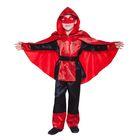 """Детский карнавальный костюм """"Паутинка"""", р-р 28, рост 104 см, цвет чёрный"""