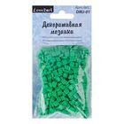 Декоративная мозаика зелёная, 5 мм, 50 г
