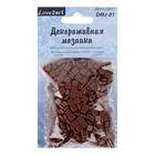 Декоративная мозаика коричневая, 5 мм, 50 г