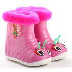 """Сапоги резиновые детские """"Бабочка"""", размер 24, розовый"""