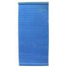 Штора плиссе 70х160, цвет синий
