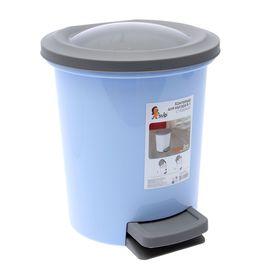 Ведро для мусора с педалью Plastic Centre, 6 л, цвет МИКС