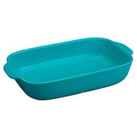 Форма для запекания прямоугольная, 2.8 л, синяя