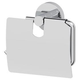 Держатель туалетной бумаги с крышкой, хром, ARTWELLE
