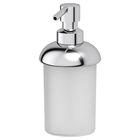 Дозатор жидкого мыла настольный, пластик, хром, FBS