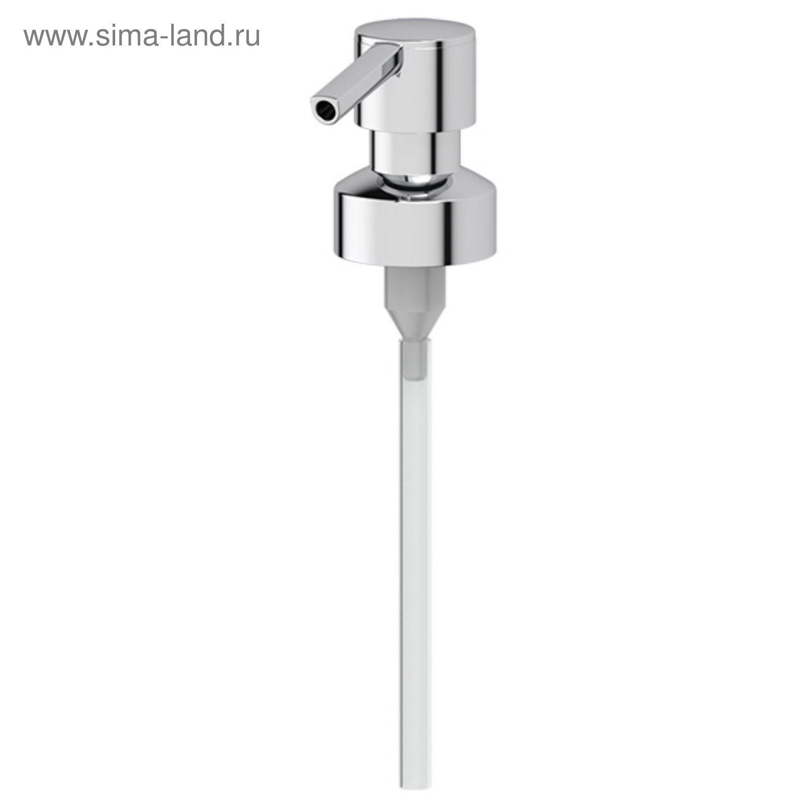 Помпа дозатора жидкого мыла, хром, FBS (2382664) - Купить по цене от ... b0960c5d621
