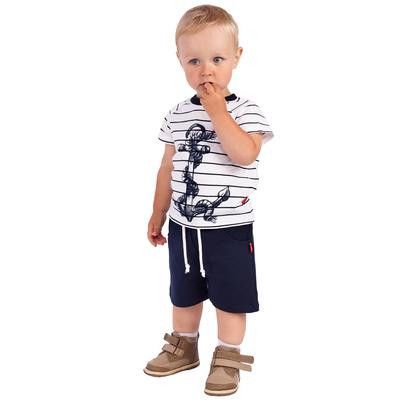 """Шорты для мальчика """"Маяк"""", рост 74 см (48), цвет тёмно-синий"""