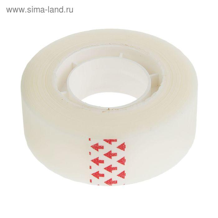 Клейкая лента канцелярская невидимая 19 мм*33 м