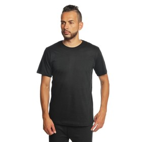 Футболка однотонная мужская цвет чёрный, р-р XXL