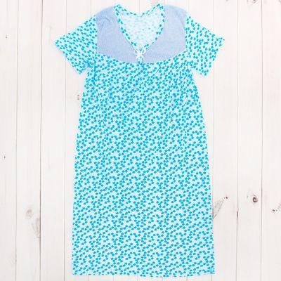 Сорочка женская с рукавом, размер 50-52, цвет МИКС