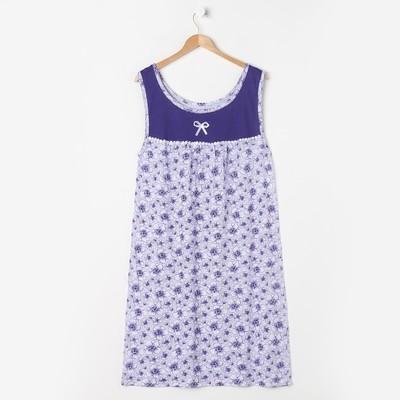 Сорочка женская без рукава, размер 50-52, цвет МИКС