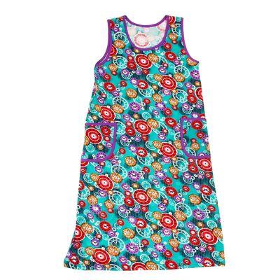 Платье женское, цвет МИКС, размер 58