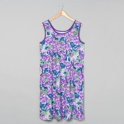 Платье женское, цвет МИКС, размер 48