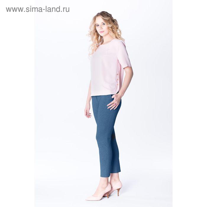 Блузка женская bl1048-1012, цвет розовый, р-р 46, рост 170 см