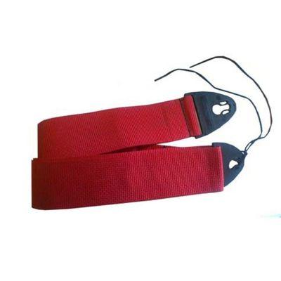 Ремень для гитары D'Andrea 1355RED Polyweb Ace-Lock  красный