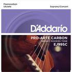 Струны для укулеле сопрано/концертного D'Addario EJ99SC Pro-Arte Carbon