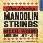 Струны для мандолины Dunlop DMN1140 никелированные, Medium, 11-40