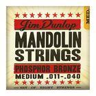 Струны для мандолины Dunlop DMP1034  фосф.бронза, Light, 10-34