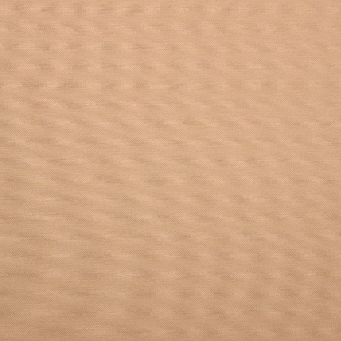 Ткань для столового белья с ГМО однотонная ш.155 см, дл. 10 м, цв. бежевый, пл. 198 г/м2