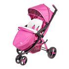 Коляска прогулочная Liko Baby BT-1218B, цвет розовый