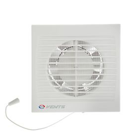 Вентилятор вытяжной VENTS 100 СВ, d=100 мм, 220-240 В, с шнурковым выключателем