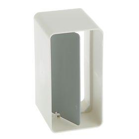 Соединитель прямоугольных каналов VENTS, с обратным клапаном, 55 х 110 мм