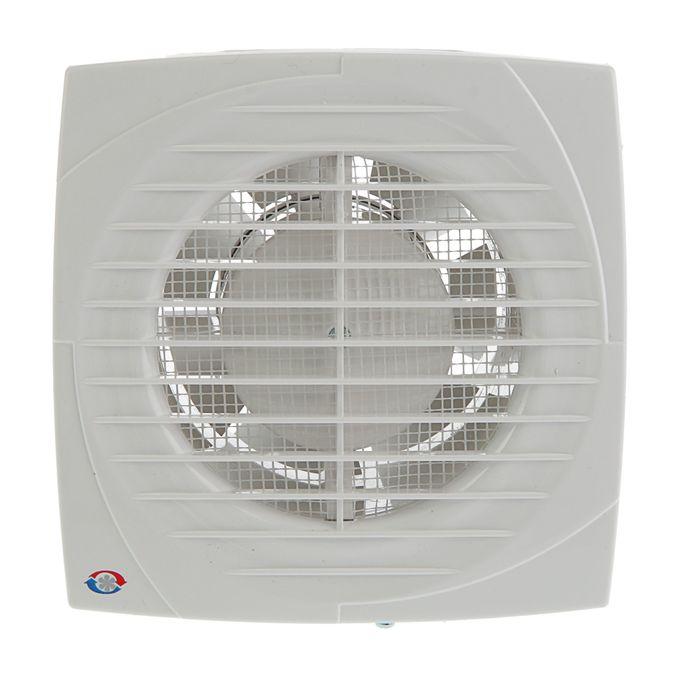 Вентилятор вытяжной VENTS 100 Д, d=100 мм, цвет белый