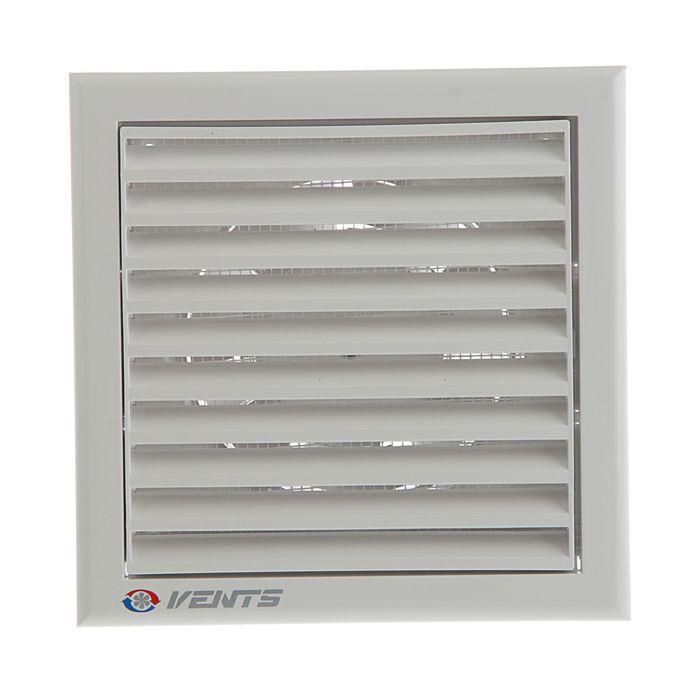 Вентилятор вытяжной VENTS 100 К, d=100 мм, 220-240В,  белый