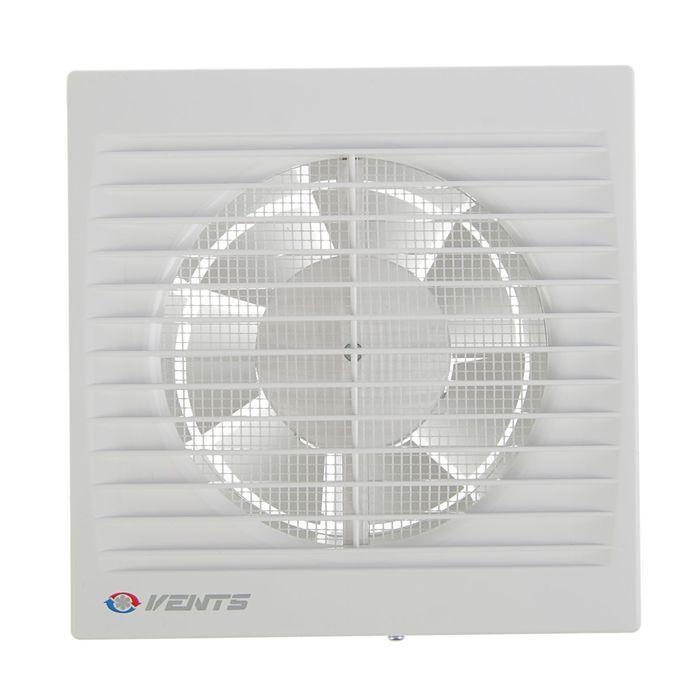 Вентилятор вытяжной VENTS 125 С, d=125 мм, цвет белый - фото 7379944