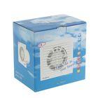 Вентилятор вытяжной VENTS 125 С, d=125 мм, цвет белый - фото 7379946