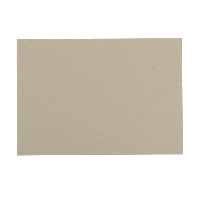 Переплетный картон для творчества (набор 10 листов) 21х30 см, толщина 0,7 мм (серый)