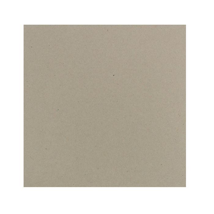 Набор переплетного картона для творчества (10 листов) 20х20 см,толщина 0,7 мм(серый)