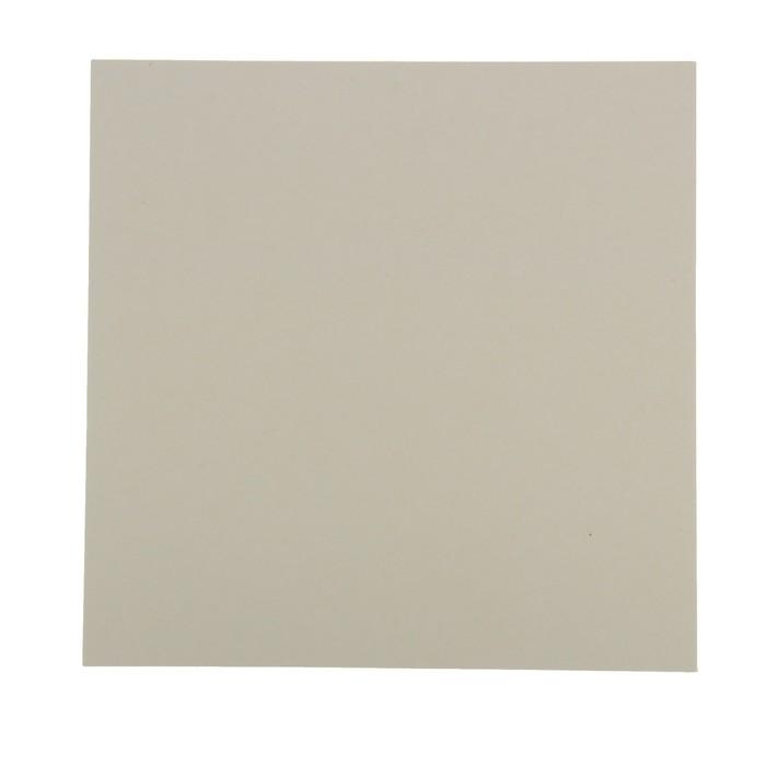 Пивной картон для творчества (набор 10 листов) 30х30 см, толщина 1,2-1,5 мм (белый)