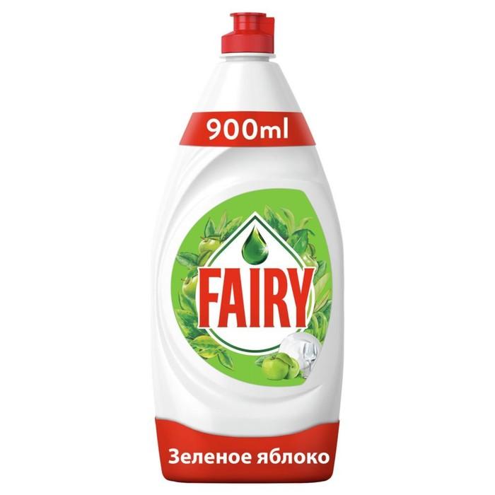 """Средство для мытья посуды FAIRY """"Зеленое яблоко"""", 900 мл"""