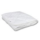 Одеяло Миродель Эконом легкое, синтетическое 172х205 см, 150гр/м, микрофибра белая